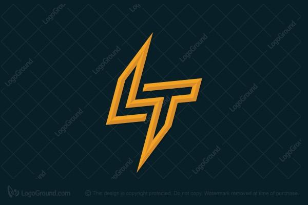 Exclusive Logo 128421, Lt Lightning Logo