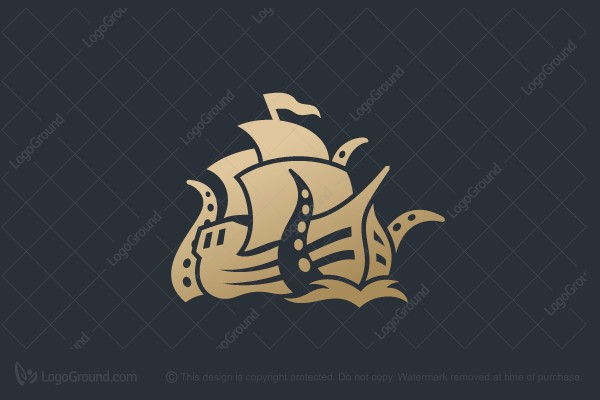 Logo for sale: Ship Monster Logo