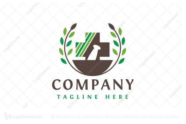 Exclusive Logo 137422, Pharma Solution Logo