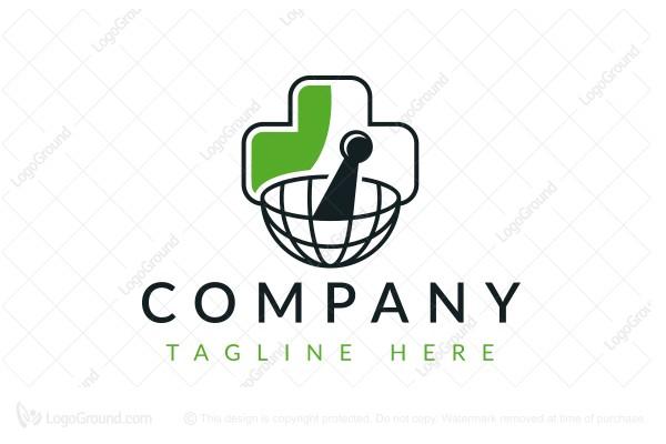 Exclusive Logo 142929, Global Pharmacy Logo