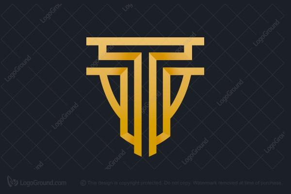 Exclusive Logo 125436, Letter T Predator Logo