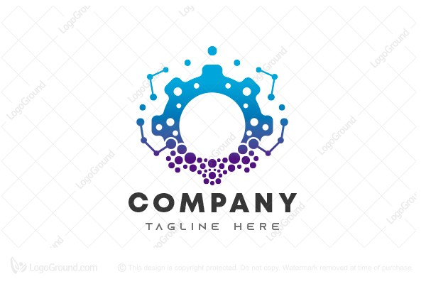 Logo for sale: Gear Tech Logo