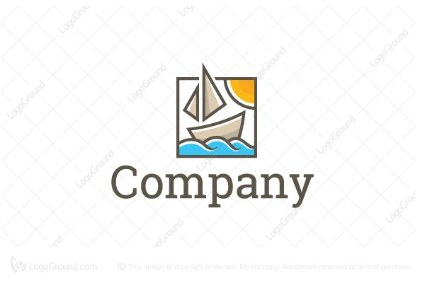 Logo for sale: Ocean Ship Travel Logo