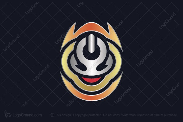 Logo for sale: Onoff Energy Monster Logo