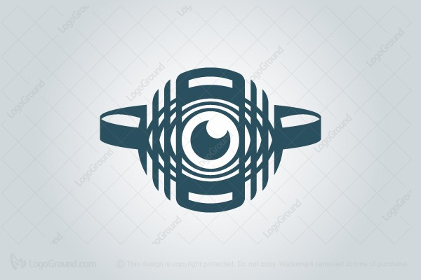 Logo for sale: Cybersecurity Drone Logo