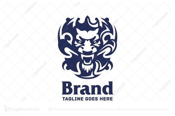 Logo for sale: Serious Lion Logo