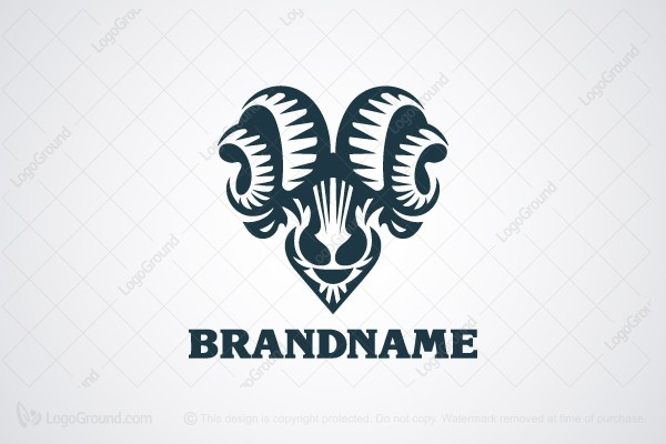 Logo for sale: Charismatic Ram Logo