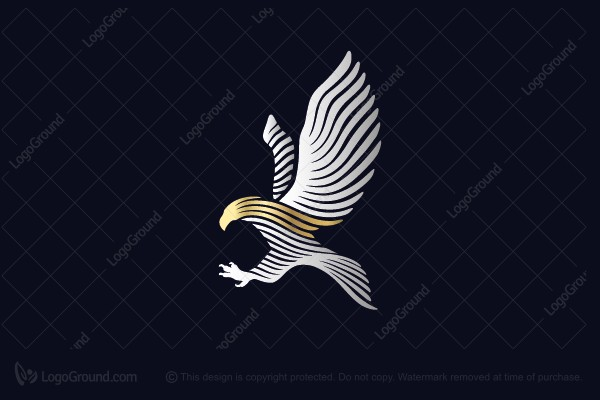 Logo for sale: The Eagle Of Freedom Logo