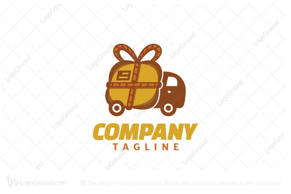 Logo for sale: Package Delivery Logo