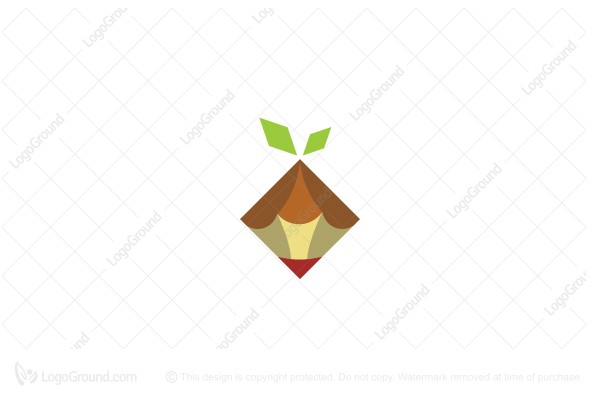 Logo for sale: Sprout Pixel Art Logo