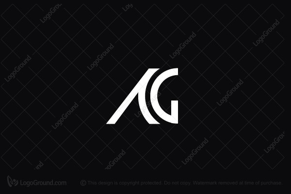 Logo for sale: Ag Monogram