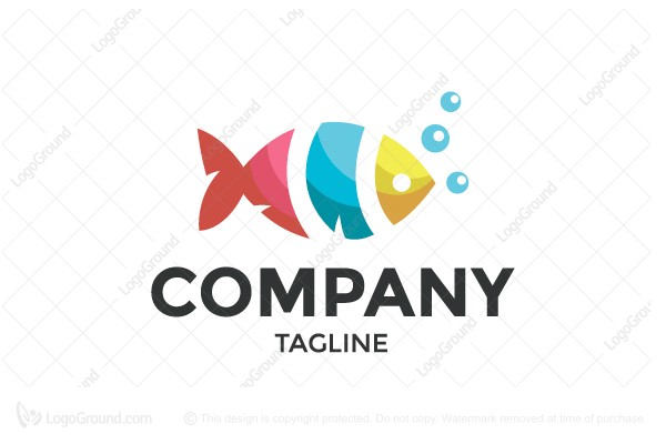 Logo for sale: Fish Logo