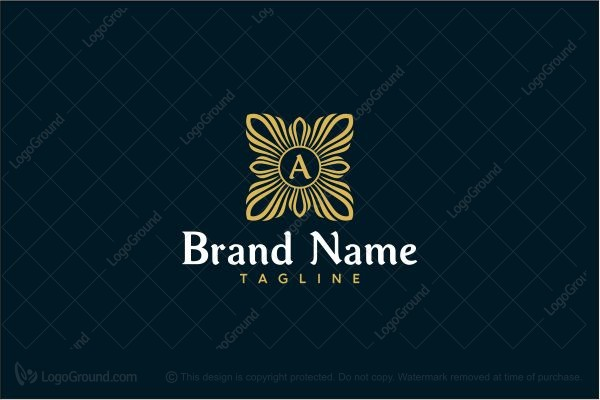 Logo for sale: Luxury Letter A Logo