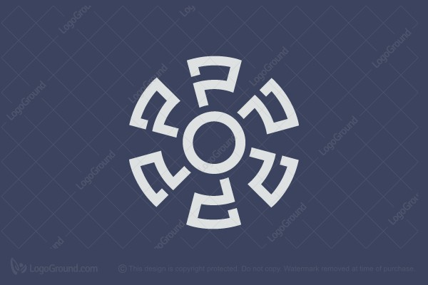 Logo for sale: Abstract Mill Logo