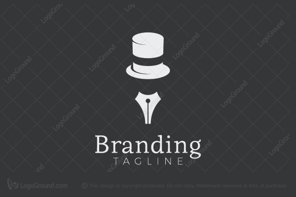 Logo for sale: Mysterious Author Logo
