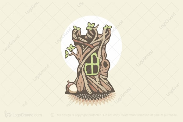 Logo for sale: Squirrel Castle Logo