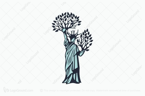 Logo for sale: Strong Liberty tree Logo
