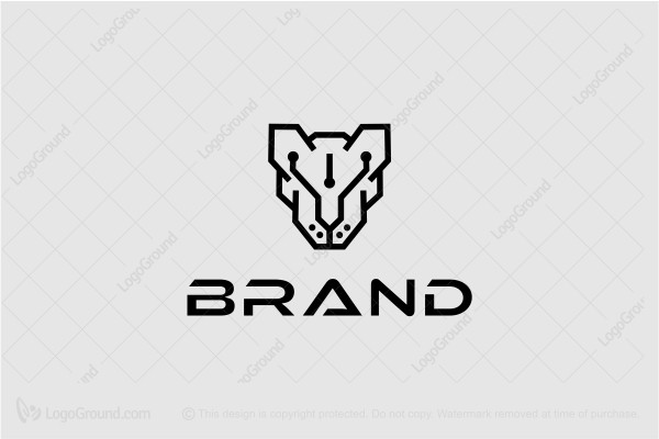 Logo for sale: Panther Tech Logo