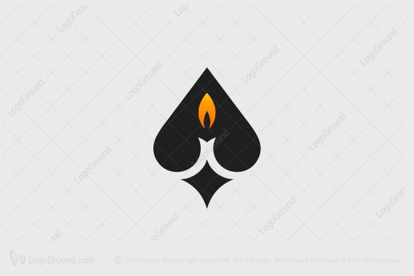 Logo for sale: Candle Ace Logo