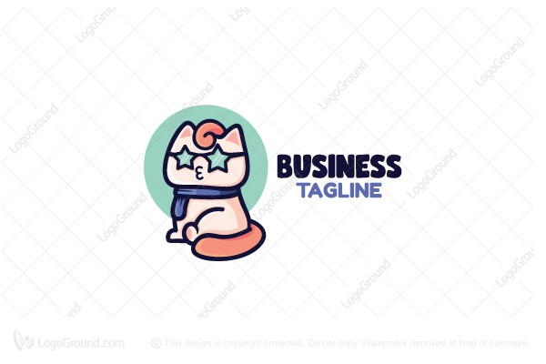 Logo for sale: Star Cat Logo