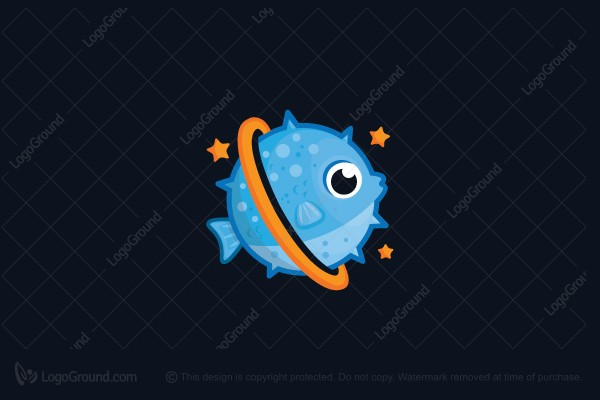 Logo for sale: Fish Planet Logo