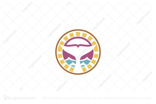 Logo for sale: Whale Tail Logo