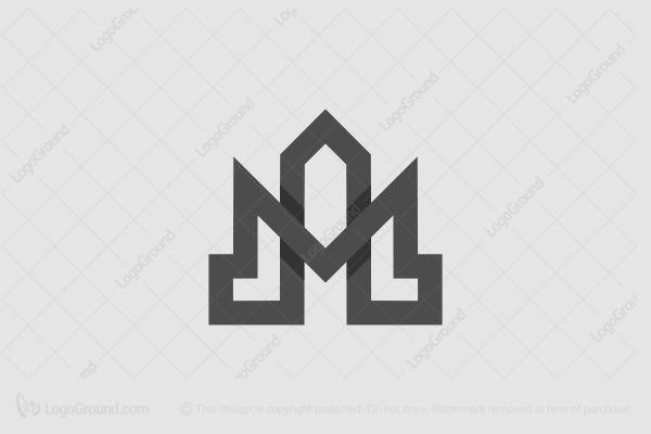 Am Or Ma Real Estate Monogram Logo
