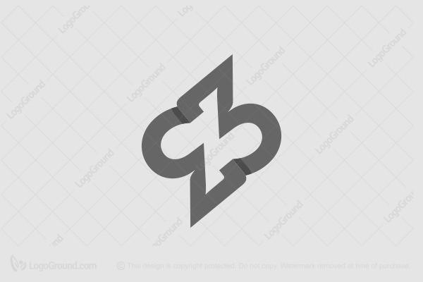 Exclusive Logo 169214, 33 Lightning Monogram Logo