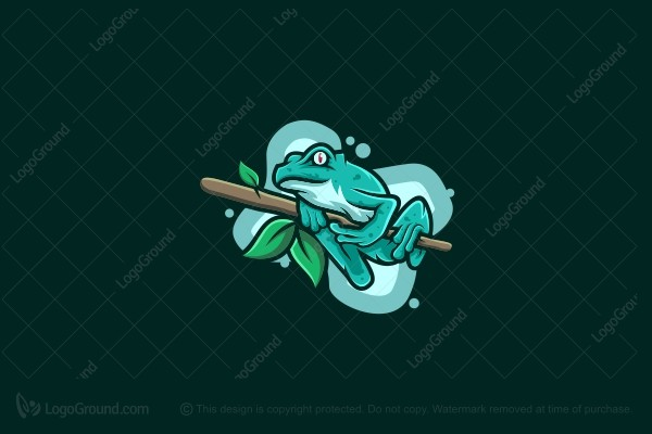 Logo for sale: Frog Logo