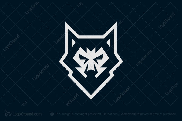 Logo for sale: Silent Wolf Logo