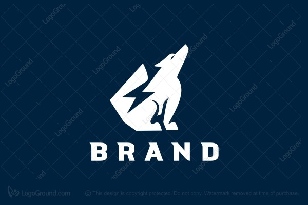 Logo for sale: Power Wolf Logo