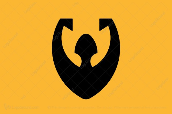 Logo for sale: Man Shield Logo