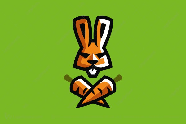 Logo for sale: Hare Pirate Logo