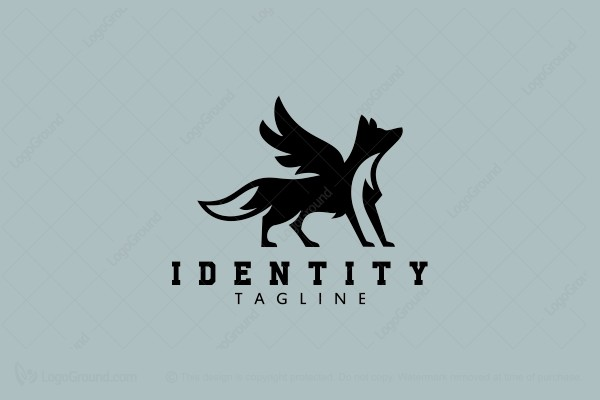 Logo for sale: Wolf Griffin Logo
