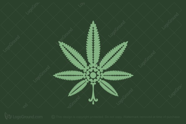 Logo for sale: Ornamental Cannabis Logo