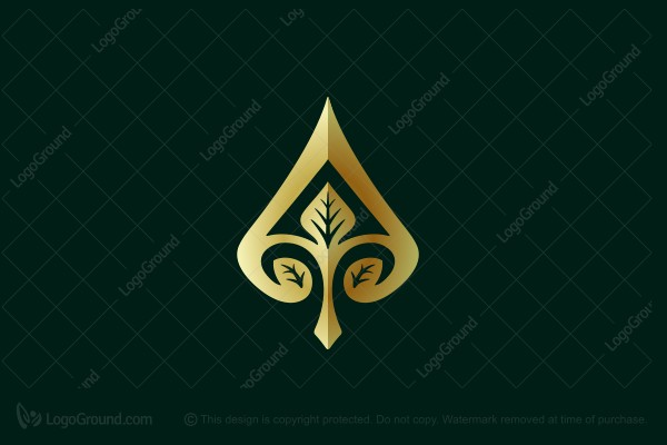Logo for sale: Floral A Leaf Logo