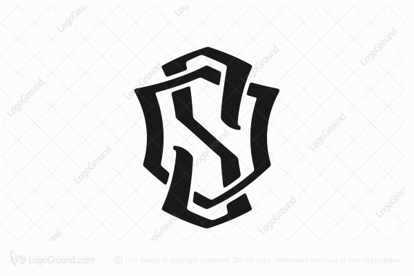 Logo for sale: S Shield Logo