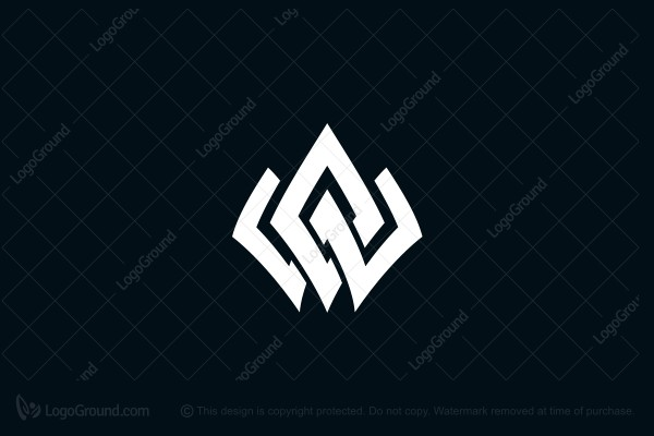 Logo for sale: W Nordic Crown Logo