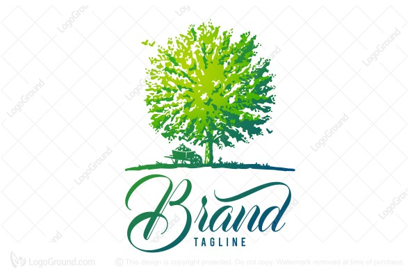 Logo for sale: Green Orchard Farms Logo