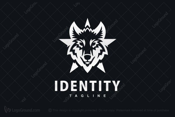 Logo for sale: Timberwolf Logo