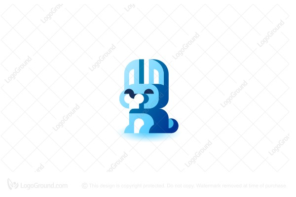 Logo for sale: Arctic Hare Logo
