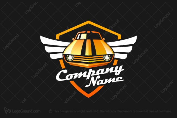 Logo for sale: Classic Muscle Car Logo