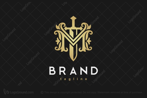 Logo for sale: Majestic Sword Logo