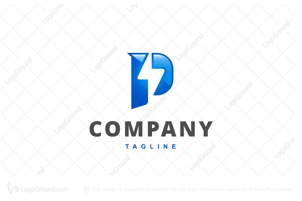 Logo for sale: Powerline Logo