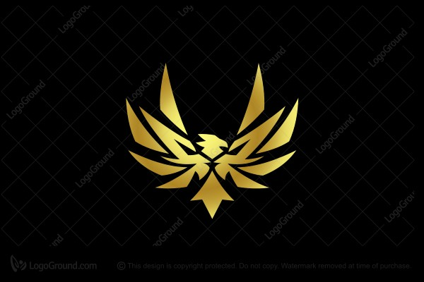 Logo for sale: Lion Phoenix Logo
