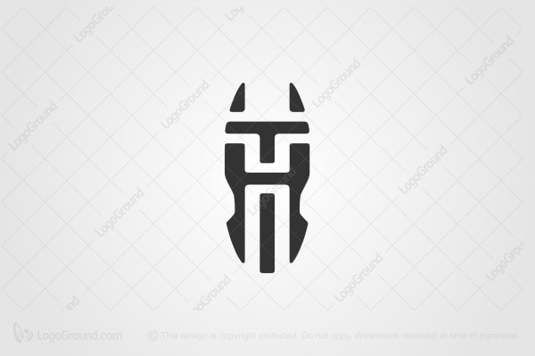 Logo for sale: TH HT horse head Logo