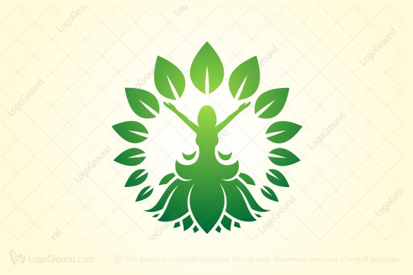 Logo for sale: Nature Woman Logo