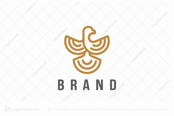 Logo for sale: Bird Line Art Logo