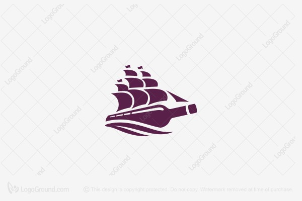 Logo for sale: Wine Logo