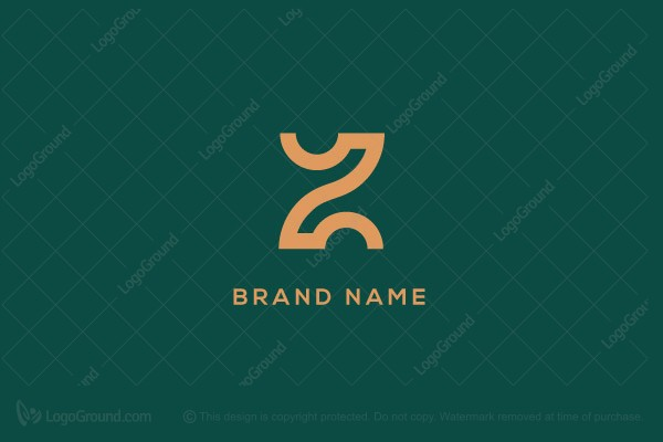 Logo for sale: Stylish Letter Z And X Logo
